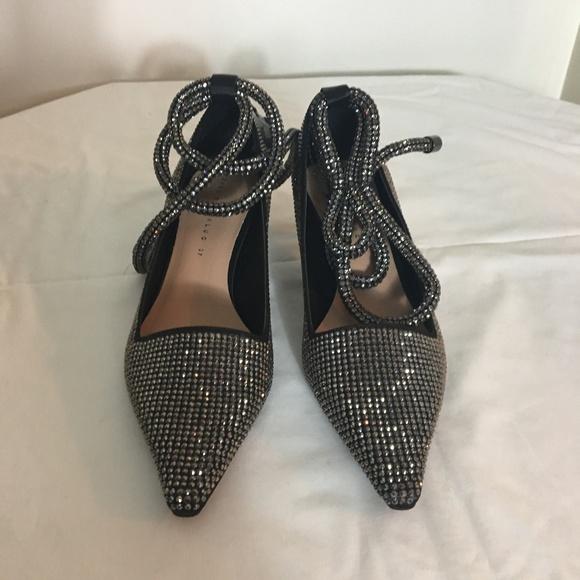 0647ba4487f Zara Shiny High Heel Court Shoes